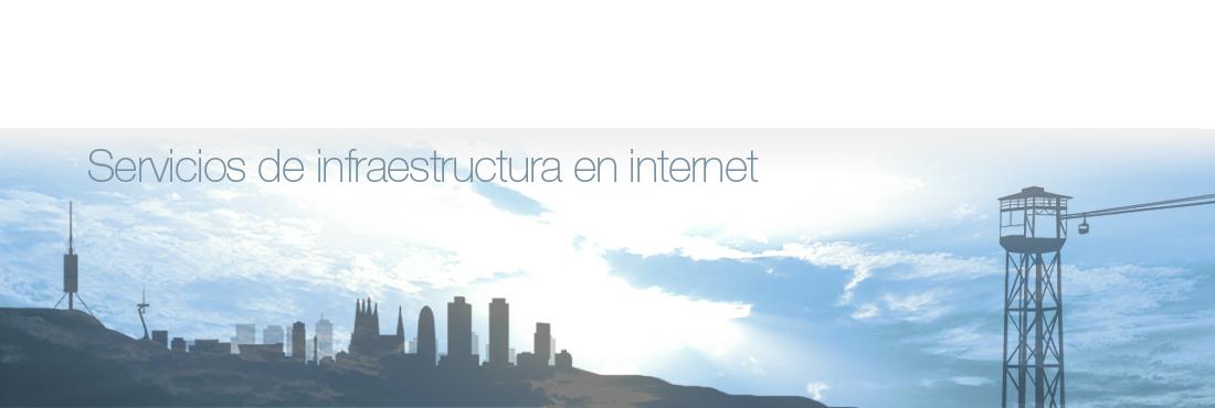 Infraestructura en Internet
